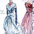 Balenciaga dresses from 1954