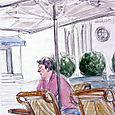 Café Alma, late afternoon