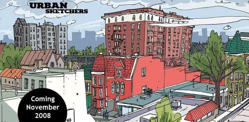 Urban sketchers banner