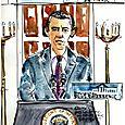 Obama spoke, I sketched
