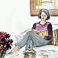 San Francisco: Kathleen reading