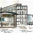 Berlin, Hauptbanhof sketch, center