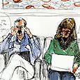 Air lounge couple