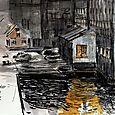 Norway, Bergen harbor