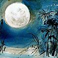 Pondshiner moon, full