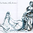 Rome: Trevi fountain vignette