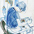 Ackland Museum Store sketcher