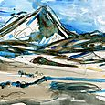 Iceland sketches: Lake Myvatn area