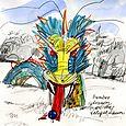 J C Raulston Arboretum illustrations: bamboo dragon