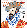 The cover itself: Walter Magazine first anniversary issue