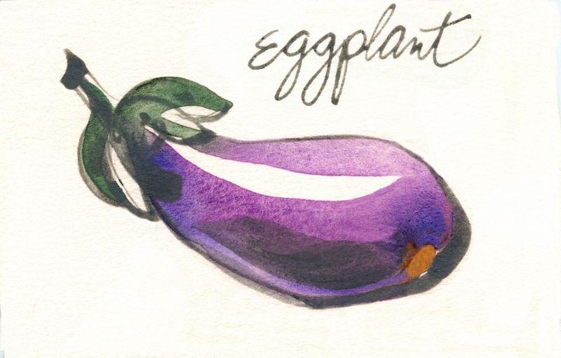 Eggplant bigger copy