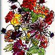 October journal: flowers