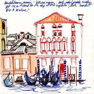 Venice- across