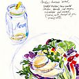 Lunch at the Saxapahaw General Store/for Walter Magazine