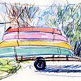 Saxapahaw canoes for Walter Magazine