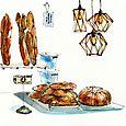 Illustration for Walter Magazine: Yellow Dog Bread Co.