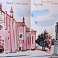 Italy: Montagnana main square