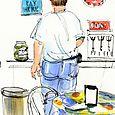 Illustration for Walter Magazine: Person Street Pharmacy