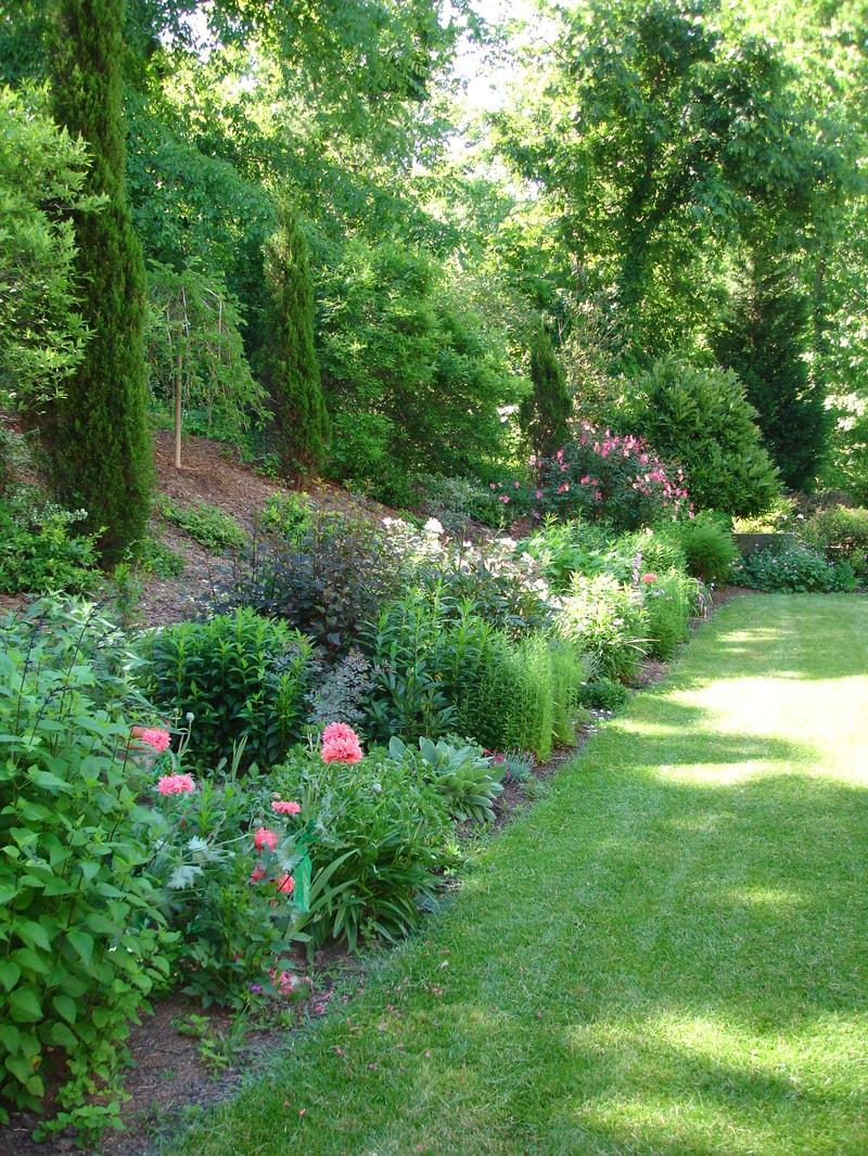 Laura garden before parterres