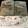 Alaska: Two sketchbooks