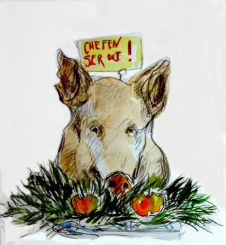Gothenburg-pig