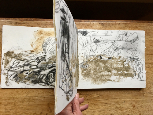 Khadi sketchbook