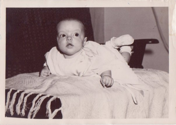 Laura as baby