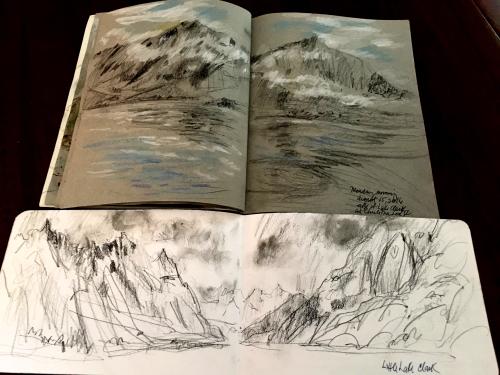 Alaska-two-sketchbooks