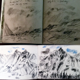 Alaska: sketchbook pair 2