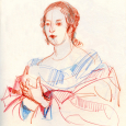 Nasher Museum, sketching Carlo Dolci, prep for November classes