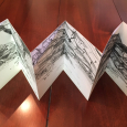 Wales: concertina sketchbook of ancient outcrops