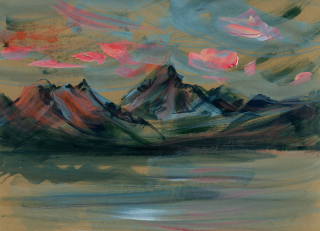 Lake clark craft paper study