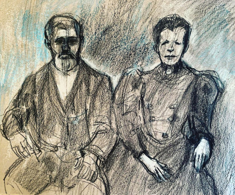 Burkett-and-Mary-Ann-first-sketch