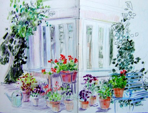In Moreton's garden