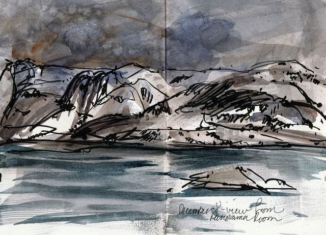Norway, view from boat