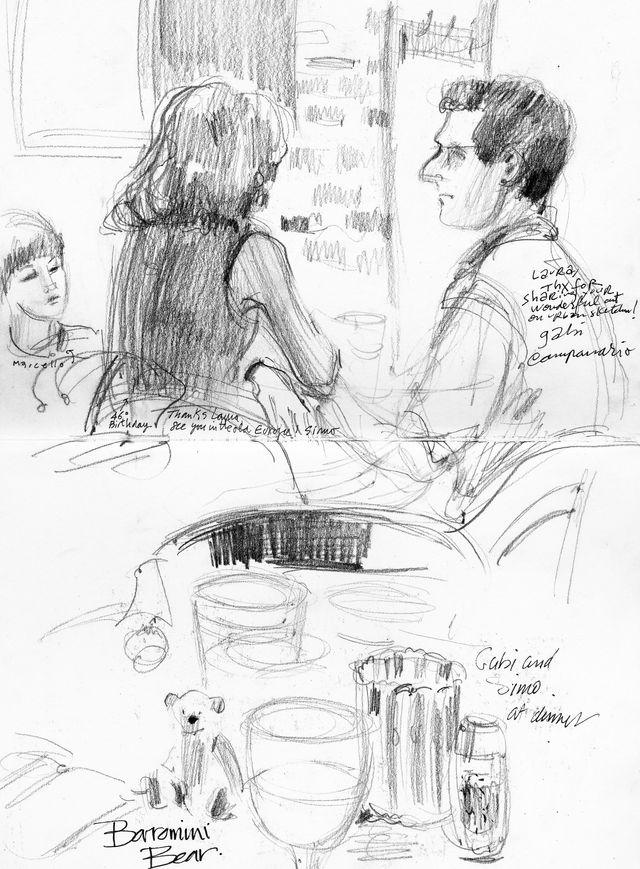 Urban Sketchers' Symposium: Gabi, Simo