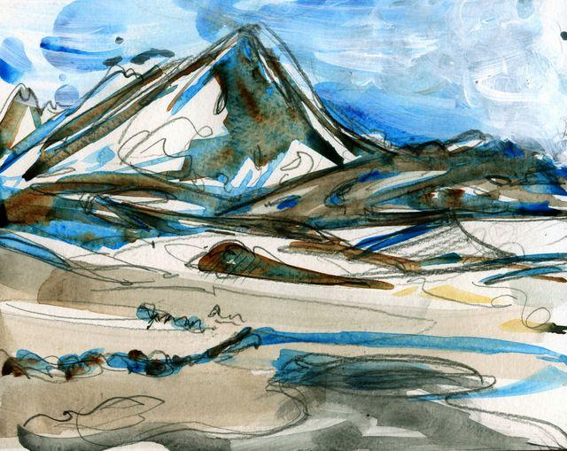 Iceland sketches: Lake Myvatn area