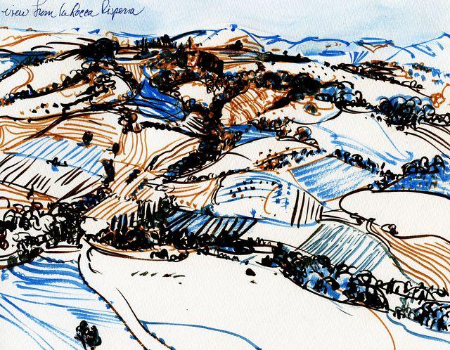 Italy-la-rocca-view