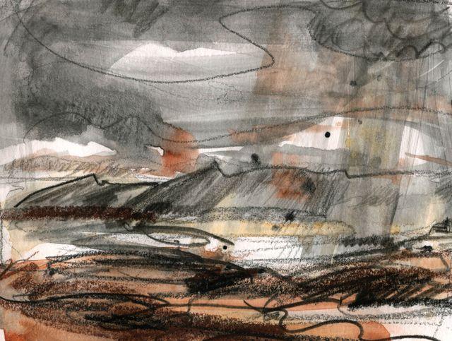 Pre-Iceland storm sketch 2