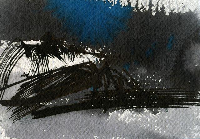 66º N, blue/black