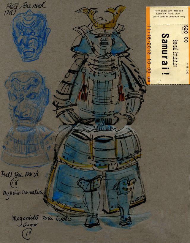 Portland: Samurai and masks
