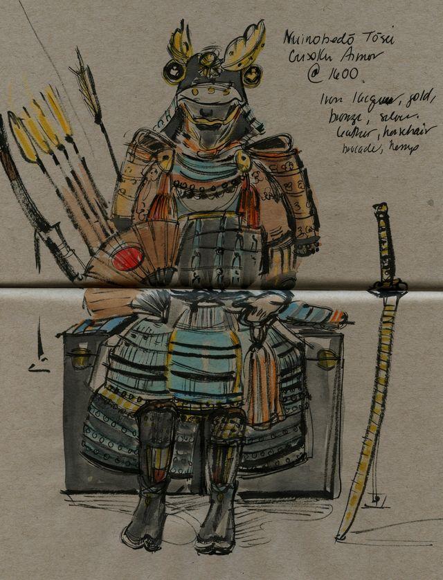 Portland samurai arrows