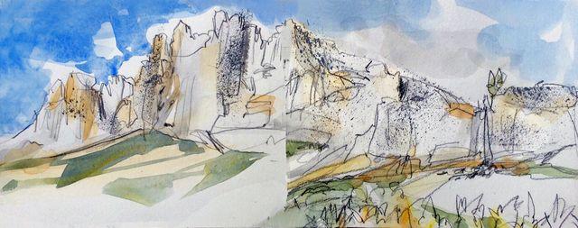 Italy: Dolomiti double spread