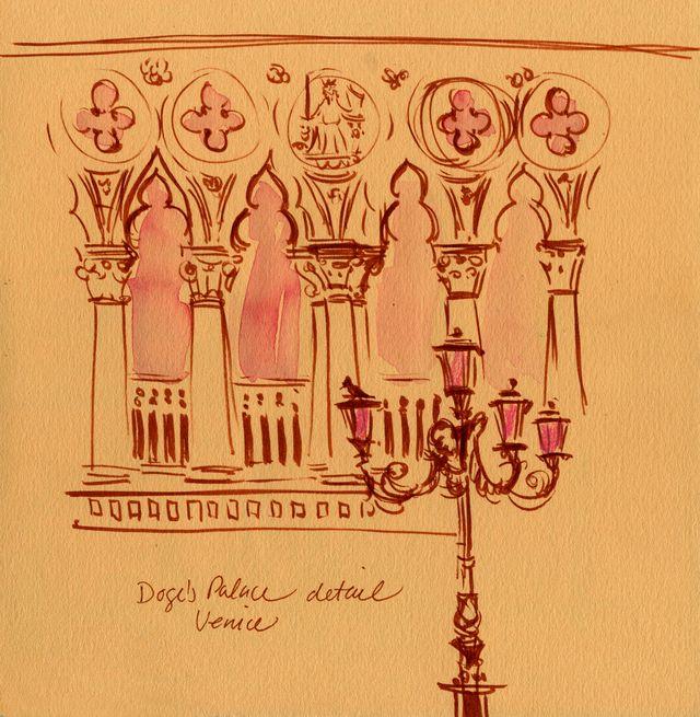 Venice: Doge's Palace detail