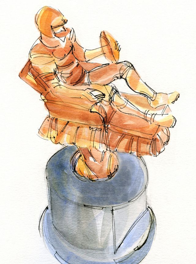 Illustration for Walter Magazine: Trophy shop