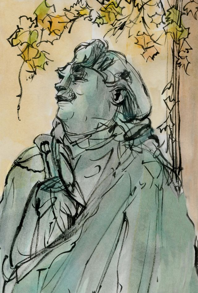 Pasadena sketches: Norton Simon museum