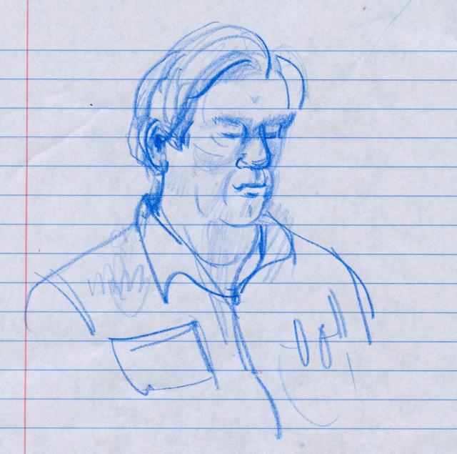 Workshop sketch man