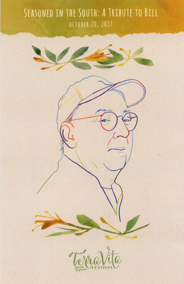 Chef Bill Smith tribute event: my illustrations