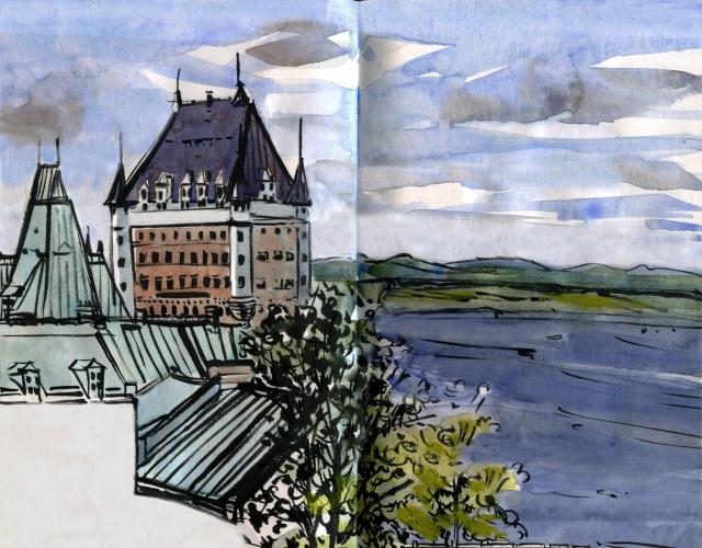 Chateau Frontenac, Quebec City