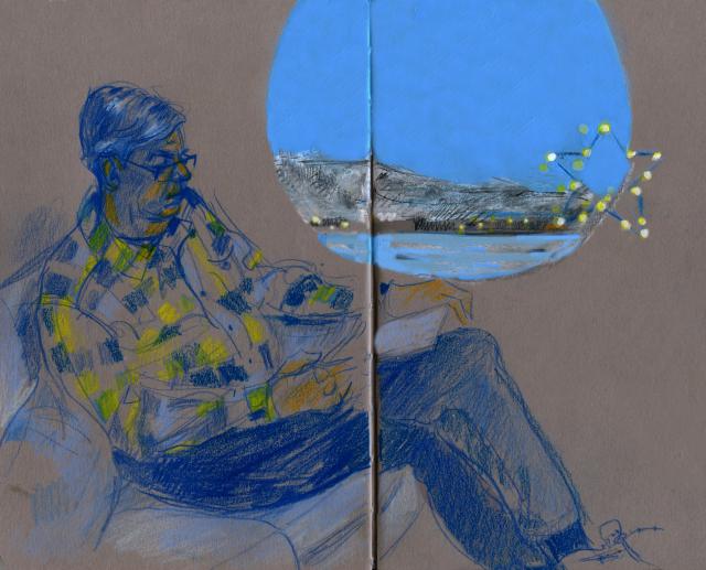 Norway: David reading